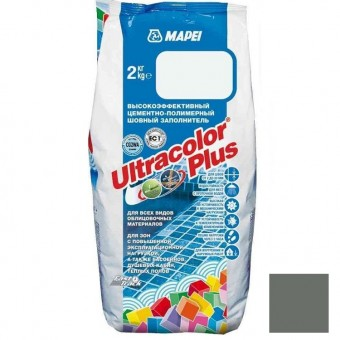 Затирка Mapei Ultracolor Plus №113 темно-серая 2 кг