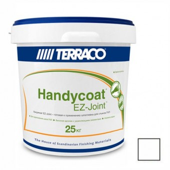 Шпаклевка Terraco Handycoat EZ-Joint для гипсокартона 25 кг