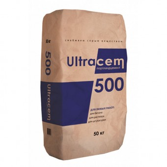 Портланд цемент Perfekta Ultracem 500, 50 кг