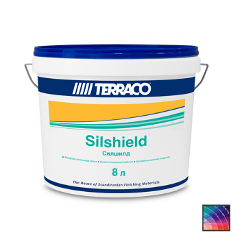 Краска Terraco Silshield Medium фасадная 8 л