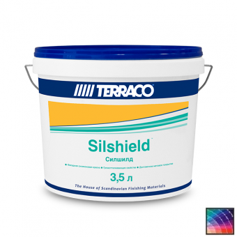 Краска Terraco Silshield Medium фасадная 3,5 л