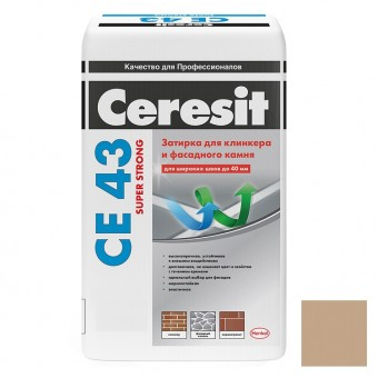 Затирка цементная Ceresit CE 43 Super Strong №43 Багамы 25 кг