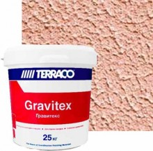 "TERRACO Gravitex Decor (Террако Гравитекс Декор) декоративная штукатурка со средней текстурой ""шагрень"" 25 кг"